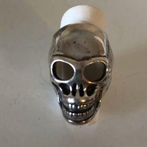 THOMAS SABO unisex big skull ring size 7.5
